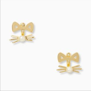 kate spade Accessories - OFFERS? NEW Kate Spade Cat Earrings